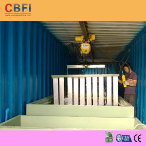 Water Cooling and Air Cooling Containerized Ice Block Maker (MBC60) pictures & photos