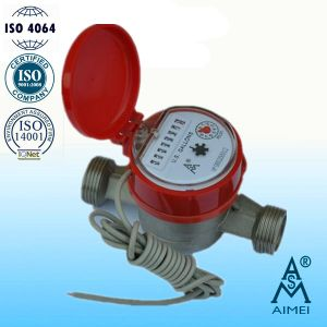Single Jet Dry Type Brass Hot Gallon Water Meter pictures & photos