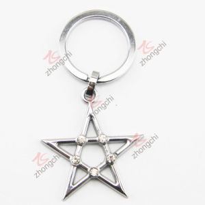Zinc Alloy Metal Crystals Star Key Chain (KC) pictures & photos