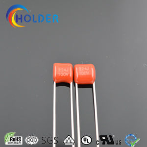 Metallized Polyester Capacitor (Mini Pinth Cl21 224j/100V for Appliance LED AC) pictures & photos