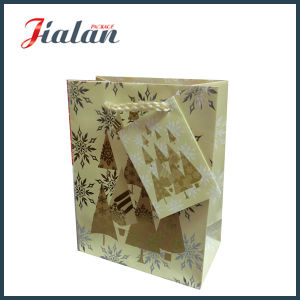 128GSM Glossy Laminated Art Paper Christmas Shopping Gift Paper Bag pictures & photos