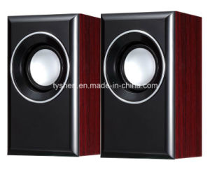 USB Wood Speaker Style No. Sp2-W07 pictures & photos