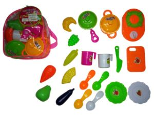 Mini Kitchen Cooking Set Toy for Children pictures & photos