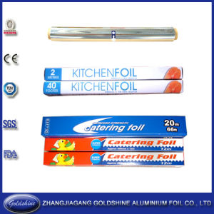 Eco-Friendly Aluminum Foil Roll for Food Packaging pictures & photos