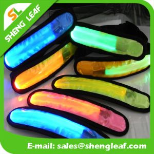 Hot Selling Safety Fashion LED Light Slap Wristband pictures & photos