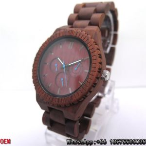 Top-Quality Black Walnut-Wood Watch Quartz Watches Hl17 pictures & photos