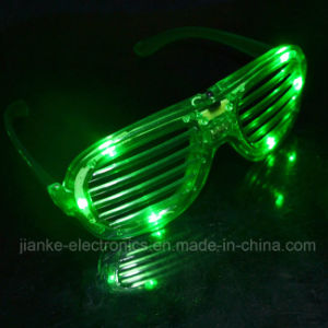 Green LED Flashing Party Glasses with Logo Print (4039) pictures & photos