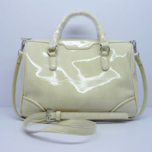 China Factory Women Handbag with White Color
