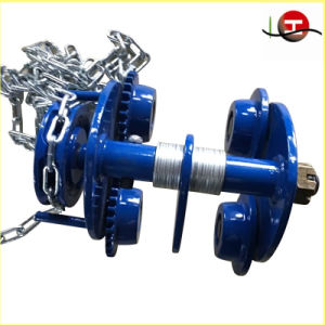 Hot Sale 3t Manual Plainted/Geared Trolley for Chain Block and Electric Chain Hoist pictures & photos