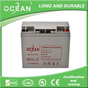 12V 17ah Maintenance-Free AGM Battery for UPS System