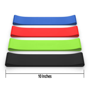 Resistance Band Type Ballet Stretch Loop Band pictures & photos