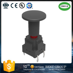 with Lamp Waterproof Tact Switch 10*10*21.2 Tact Switch pictures & photos