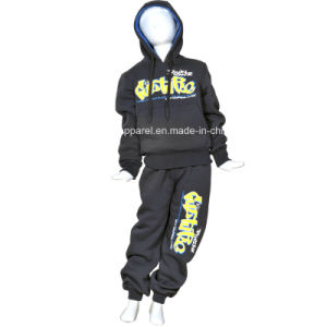 Lovely Kids′ Polyester Sport Tracksuit pictures & photos