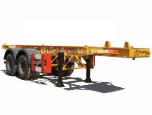 20ft Container Truck Semi Trailer