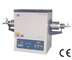 1750c High Temperature Vacuum Tube Furnace for Laboratory Equipment Btf-1750c