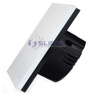 Intelligent Light Switch: Tempered Glass Panel Remote Control 3 Gang Intelligent Light Switch,Lighting