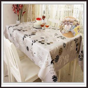 Colour Printed Tablecloth PEVA\EVA\PVC pictures & photos