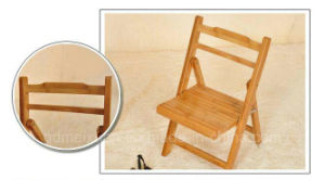 Bamboo Wood Folding Dining Chairs Modern Dining Chairs Computer Chairs (M-X2506) pictures & photos
