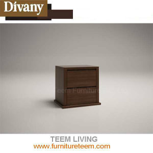 MDF Night Stand with Drawers Lamp Table for Bedroom pictures & photos