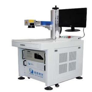 Metals Plastic Steel Titanium Copper Colour Fiber Laser Marking Machine