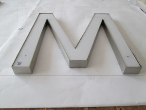 LED Epoxy Resin Channel Letters Advertising Sign Board pictures & photos