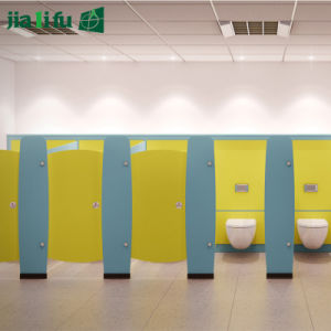 Jialifu Compact Laminate Panel Kindergarten Bathroom Cubicle pictures & photos