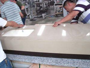 Granite Quartz Stone Reception Desk