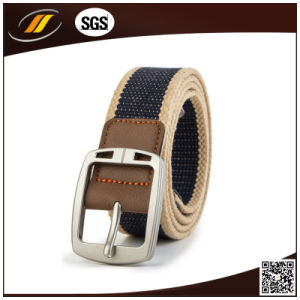 Elastic Webbing Belt, Army Webbing Belt, Canvas Belt for Customized (HJ4104)