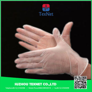 Powder Free/ Powdered Clear Vinyl Gloves for Hair Salon pictures & photos