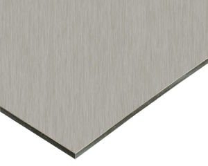 Silver Brushed ACP /Aluminum Wall Cladding Brushed Aluminum Composite Panel pictures & photos