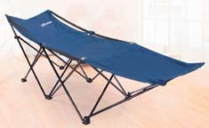 Comfortable Camping Folding Bed, Folding 600d Oxford Camping Cot for Single Person