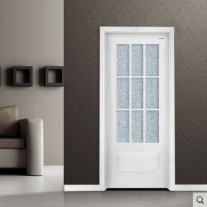 Selling Hot MDF Door with Glass pictures & photos
