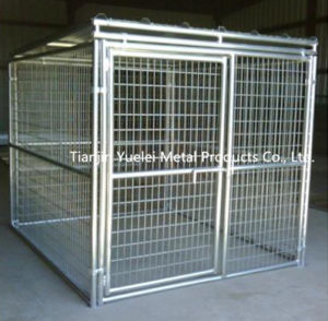 Best Quality Dog Cage/Square Tube Dog Cage/Top Class Small Dog Cage/Heavy Duty Folding Metal Large Pet Dog Cage pictures & photos