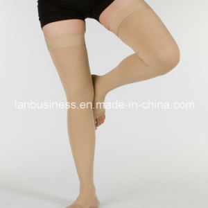 Ly 40-50mmhg Compression Stocking for Postoperation Recovery pictures & photos