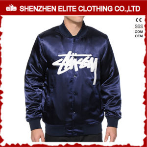 2016 Mens Satin Bomber Jacket Gold pictures & photos