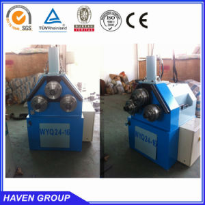 mechanical type section bender, profile bending machine pictures & photos