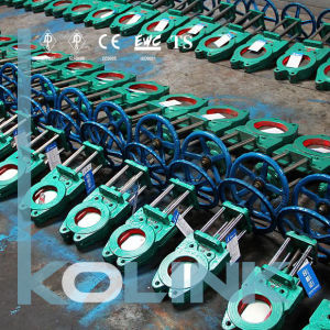 U Seal Bi-Directional Knife Gate Valve Resilient Seated Wafer Type pictures & photos