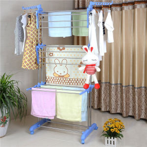 Metal Clothes Towel Hanging Rack for Drying Clothes Metal Jp-Cr300wms pictures & photos