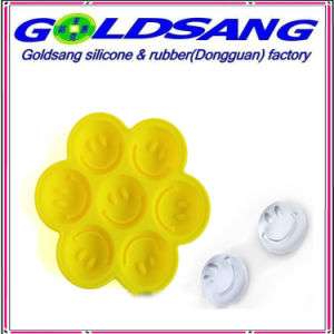 Smile Face Ice Tray Silicone Ice Mould pictures & photos