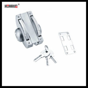 Stainless Steel Glass Door Lock with Wall  HR-1150/HR-1150B pictures & photos
