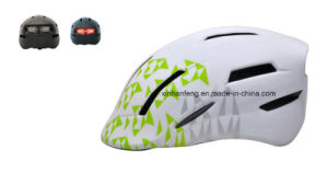 Fashion New Design City Bike Helmet with LED Light (VHM-049) pictures & photos