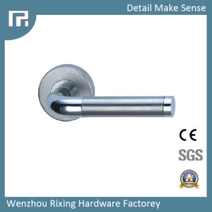 High Quality Stainless Steel Lock Door Handle Rxs23 pictures & photos