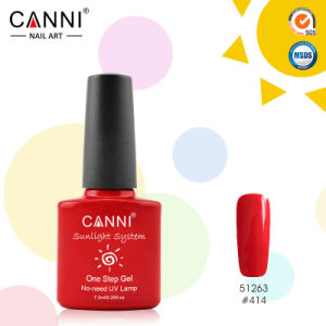 #51263j Canni Wholesale Nail Art Design 29 Color Sunlight One Step UV Gel Nail Polish, 3 in 1 Nail Gel Polish, One Phase Nail Gel