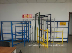 Hi Load Shoring Frame Scaffolding to Canada&USA pictures & photos