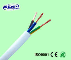 Flexible Copper 3 Core Conductor PVC Insulated Stranded Power Cable 3X2.5 pictures & photos