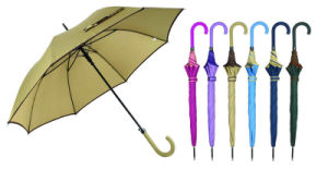 Outdoor/Advertising/Edged Design Straight Automatic Umbrella (YS-SA23083928R) pictures & photos