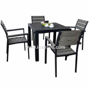 Outdoor Square Polywood Cafe Furniture (Pwc-351) pictures & photos