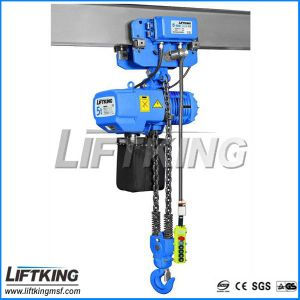 0.5 Ton Hook Suspended Electric Chain Hoist pictures & photos