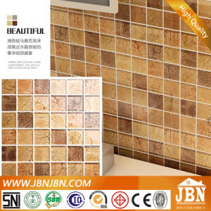 Golden Foiled Decorative Glass Mosaic (G848003) pictures & photos