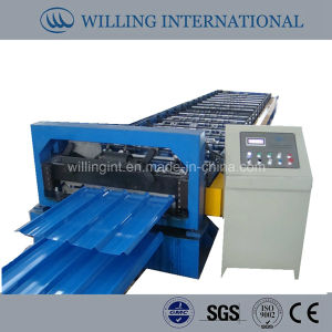 Hot Sale PLC Control Corrugated Roll Forming Machine pictures & photos